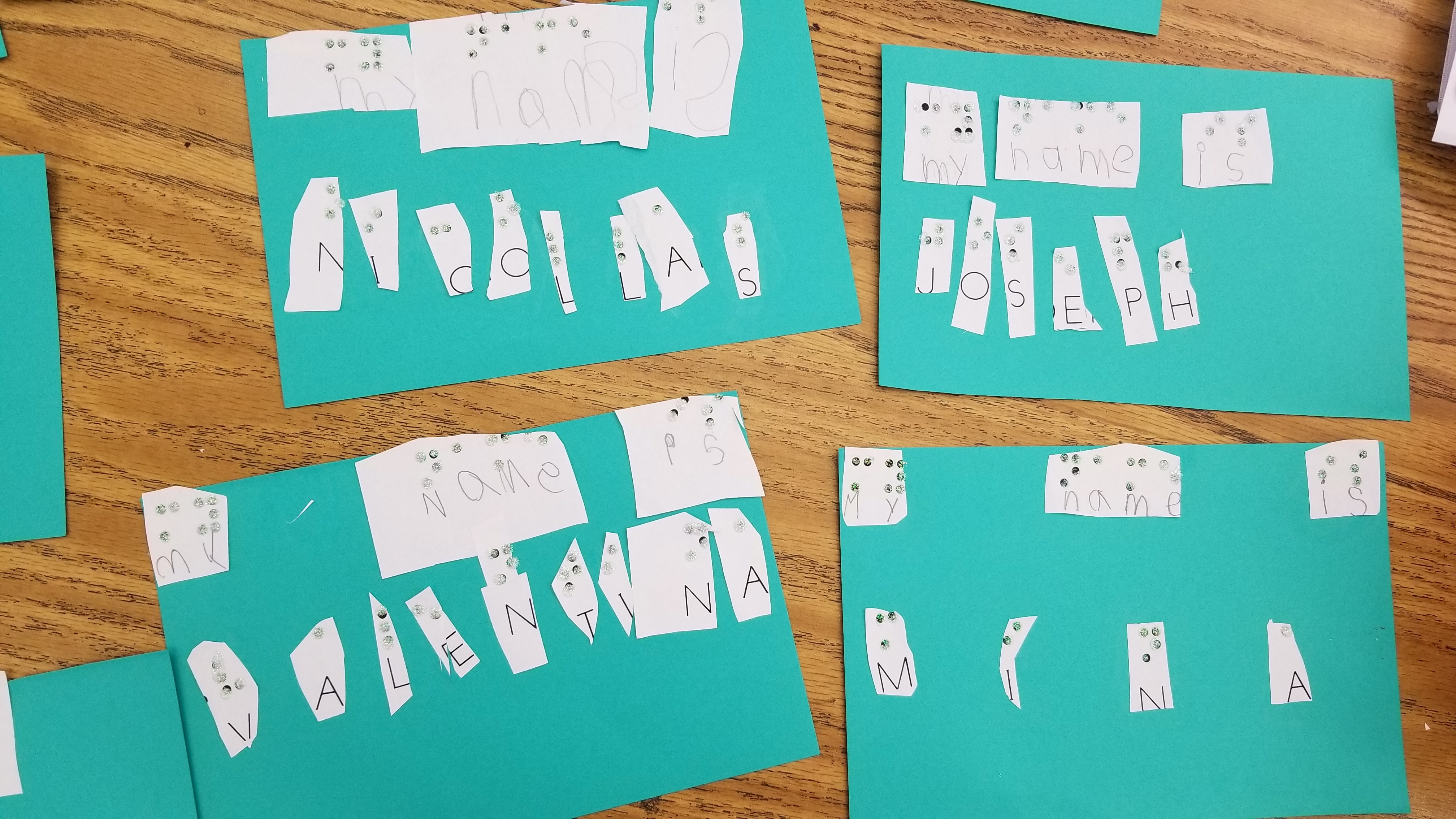 CKLA Your Way: Braille Activity from Sarah McNeil